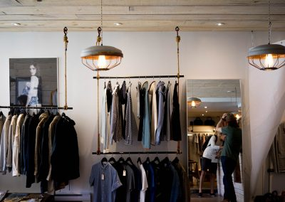 Clothes shop measures turnover up by 18%