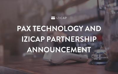 PAX Technology and IZICAP partnership announcement