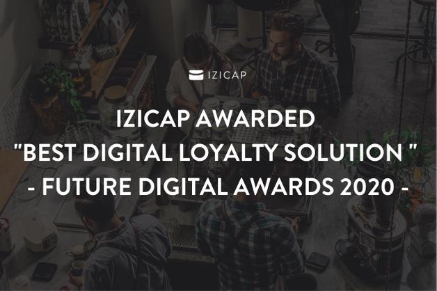 "IZICAP awarded ""Best Digital Loyalty Solution 2020"""